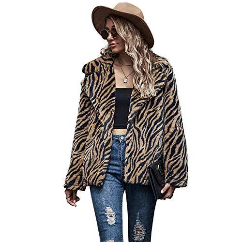 Lssing Grenzüberschreitender Außenhandel Europäische und amerikanische Damen Ins Fashion Revers Jacke Damen Langarm Amazon Ebay One Drop Shipping, M