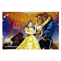 美女と野獣 500/1000ジグソーパズルの美人と野獣の色彩の絵はシリーズを組み合わせます ゲスト【Fall in Love】