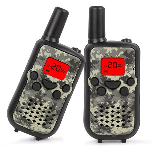 Walkie Talkies for Kids, 22 Channel Walkie Talkies 2 Way Radio 3 Miles (Up to 5Miles) Handheld...