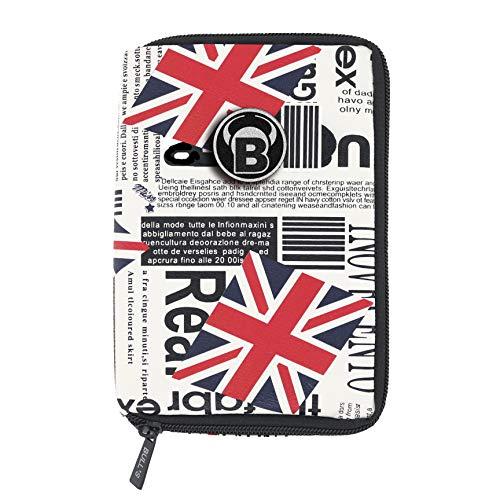 BULL'S Erwachsene Dartcase British Flag Tp, Premium