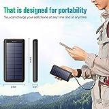 Zoom IMG-2 iposible powerbank solare 26800mah con