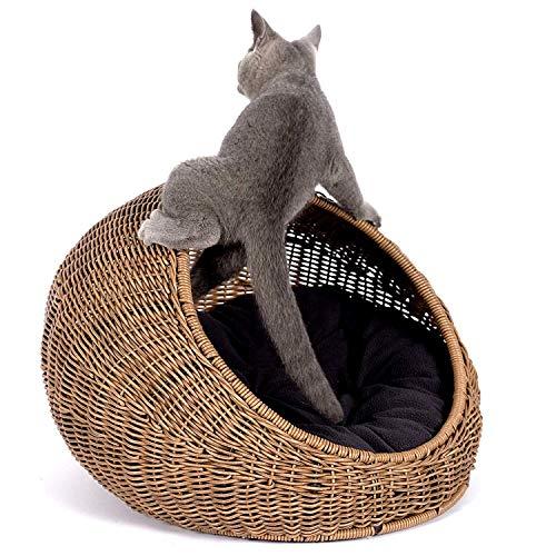 Casa Gato Mimbre Marca DALEI