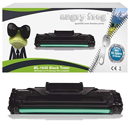 Black Toner für Samsung ML-1640 mit Chip - Schwarz, kompatibel zu D1082S/ELS, Geeignet für Samsung ML 1640 Samsung ML 2240