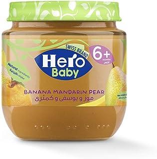 Hero Baby Mandarin And Banana With Pear, 125g