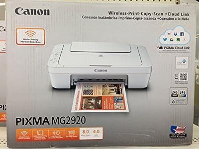 Canon PIXMA MG2920 Wireless Inkjet All-in-One Printer/Copier/Scanner