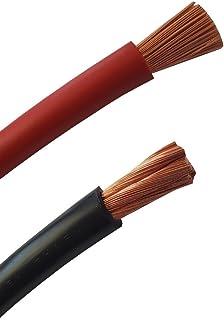 Accukabel op de meter nauwkeurig! ROOD (+) & ZWART (-) als combinatie H07V-K 2,5/4/6/10/16/25/35/50 of 70 mm² (mm2) batter...