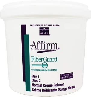 Avlon Affirm FiberGuard Conditioning Creme Relaxer Normal 4 lbs.