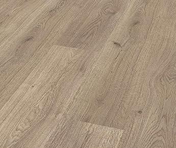 Foto di Pavimento Laminato Kronotex a Incastro, Scatola da 2,390 m²/AC3, Spessore 7mm. Rovere Beige Niagara