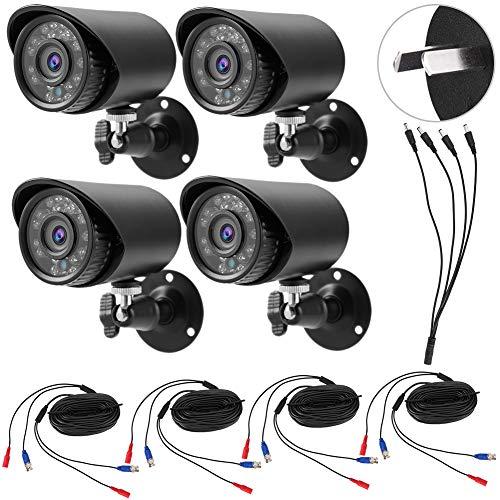 AHD/TVI/CVI/CVBS 4-in-1 720P HD NTSC Telecamera di sicurezza resistente alle intemperie per interni/esterni(Regolamenti australiani (100-240 V))