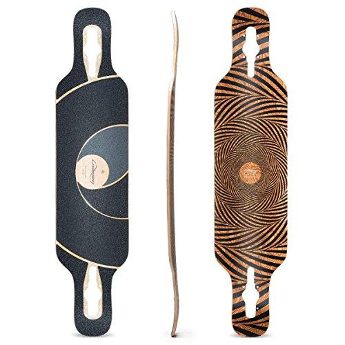 Loaded Boards Tan Tien Bamboo Longboard Skateboard Deck (Flex 2)