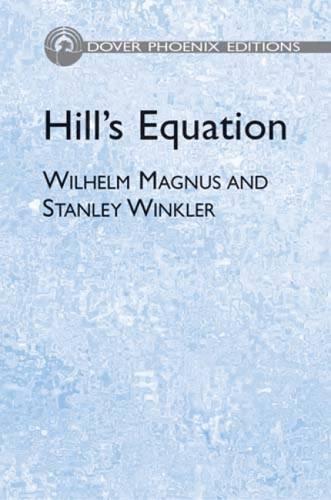 Hill's Equation (Dover Books on Mathematics)の詳細を見る