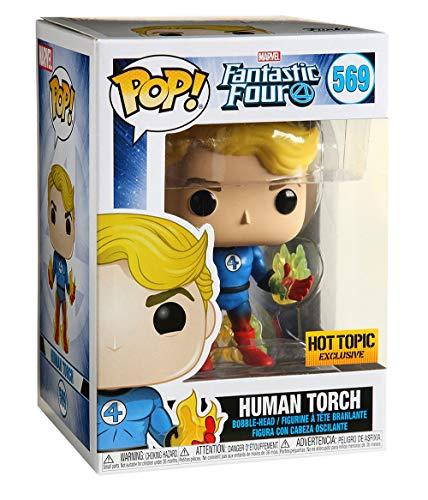 Funko Pop Antorcha Humana (Los Cuatro Fantásticos 569) Funko Pop Los Cuatro Fantásticos