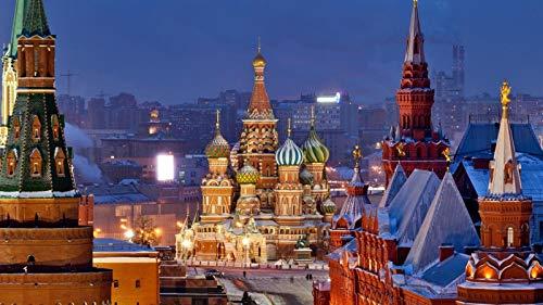 Puzzles De 1000 Piezas Para Adultos Catedral De San Basilio Moscú Rusia Montaje De Madera Decoración Para El Hogar Juego De Juguetes Juguete Educativo Para Niños Y Adultos Regalos