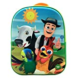Disney Mochila con Luz Y Sonido, Unisex niños, Multicolor, 24x32x9