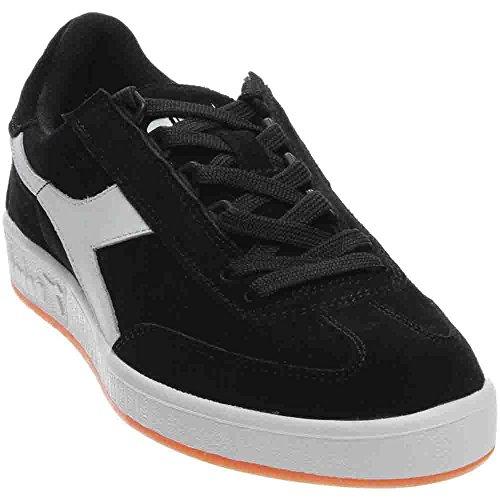 Diadora Men's b. Original Tennis Shoe, Black/White, 11 M US