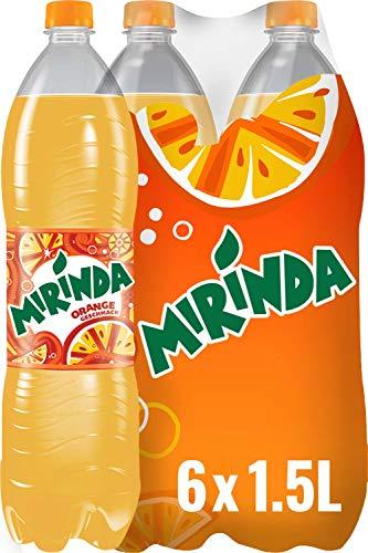 Mirinda, Das Original in Orange Classic, Limonade mit fruchtigem Orangengeschmack (6 x 1,5 l)