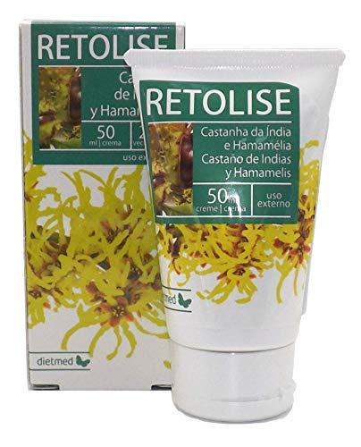 DIETMED Retolise crema para Hemorroides y fisuras anales, potente combinación de Hamamelis +...