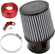 HIAORS Air Filter With Adapter Kit for 6.5 HP Honda Clone GX160 GX200 Go Kart Predator 212cc Engine Go Kart Racing Cart Mini Bike Parts