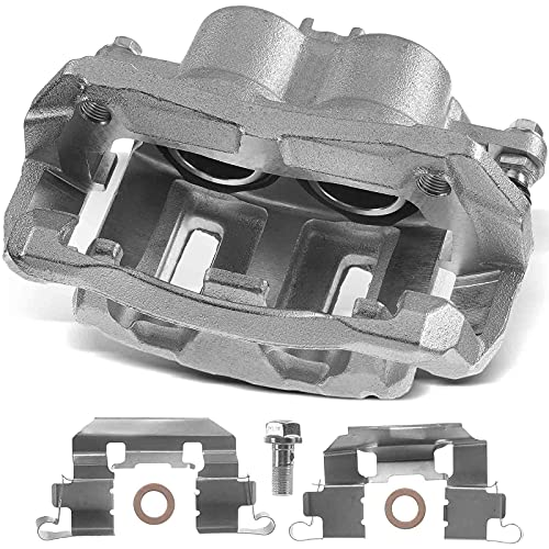 A-Premium Disc Brake Caliper Assembly with Bracket Compatible with Acura RDX 2007-2012 Honda Crosstour 2012-2015 Odyssey 2005-2010 CR-V 2012-2016 Front Right Passenger Side