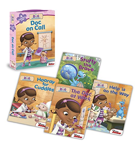 Price comparison product image Doc McStuffins: Doc on Call: Board Book Boxed Set