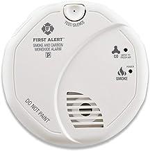 دستگاه تشخیص ترکیبی دود و مونوکسید کربن First Alert SCO5CN – کار با باتری
