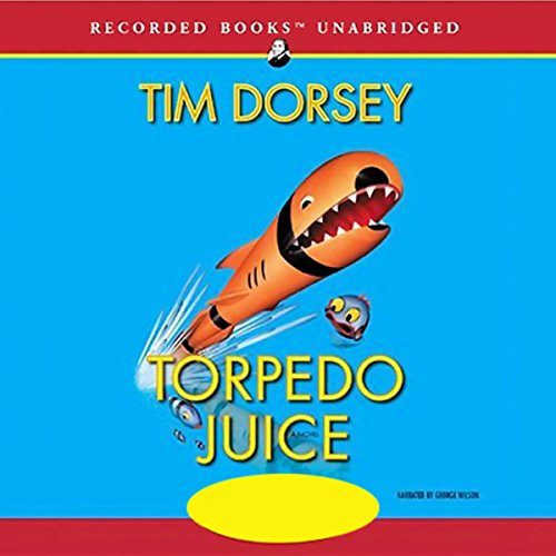 Torpedo Juice audiobook cover art