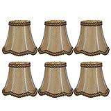 copri lampada copri lampada da tavolo buona trasmissione della luce paralume 6 pezzi accessorio lampada per camere da letto corridoi salotti sale studio