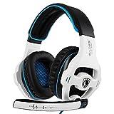 Auriculares SADES SA810 Xbox One PS4 Stereo Gaming con micrófono y cancelación de Ruido y Control de Volumen para la Nueva Xbox One/PC/Mac / PS4 / Table/Phone