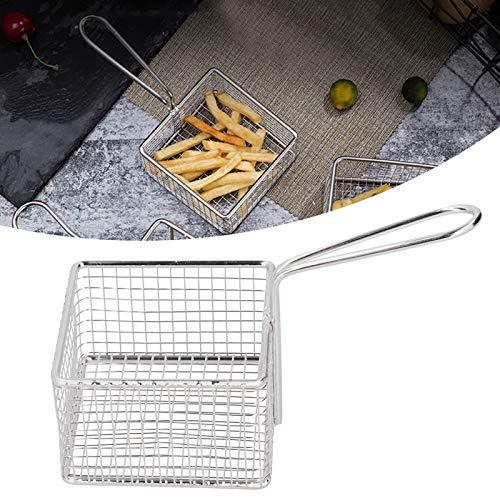 Uxsiya Cesta de la Comida de la Cesta de la freidora de la Astilla para la Cocina para Las Patatas Fritas