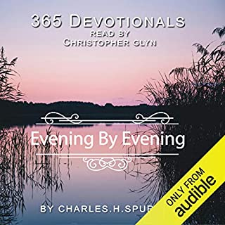 365 Devotionals. Evening by Evening - by Charles H. Spurgeon. cover art