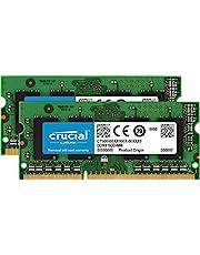 Crucial CT2K8G3S1339M - Kit de Memoria para Mac de 16 GB (8 GB x 2, DDR3/DDR3L, 1333 MT/s, PC3-10600, SODIMM, 240-Pines)