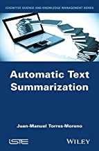Automatic Text Summarization (Cognitive Science and Knowledge Management)
