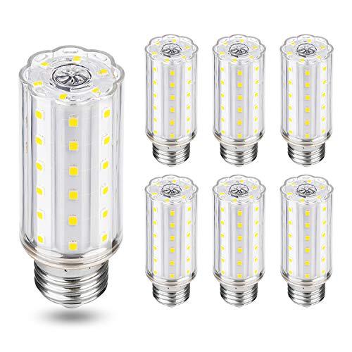 Bombilla LED E27 10W Blanco Frío 6000K, 1000lm LED Equivalentes a 100W Incandescente, bombillas led e27 luz fria -6 unidades
