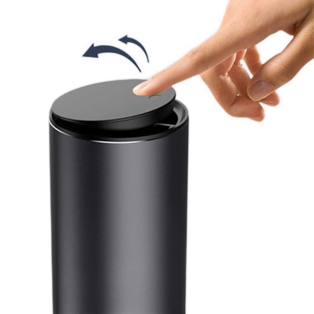 2 Pcs Car Styling Trash Bin Garbage 2021 new Rare Can Organizer Alloy C Holder