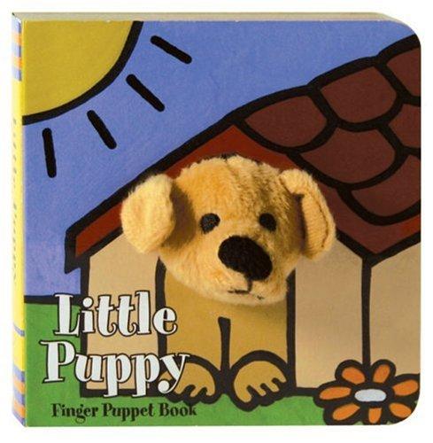 Little Puppy: Finger Puppet Book: (Puppet Book for Baby, Little Dog Board Book) (Little Finger Puppet Board Books, FING)