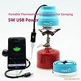 Ajirangi Portable Thermoelectric Generator for Camping - Max 5W USB Charging
