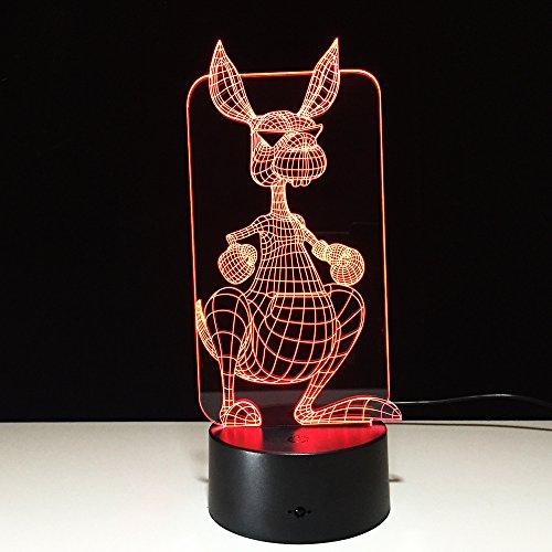 jiushixw 3D stereo met kleurverandering nachtlampje met afstandsbediening industriële tafellamp nieuwe autovorm motorfiets donker tafellamp barok.