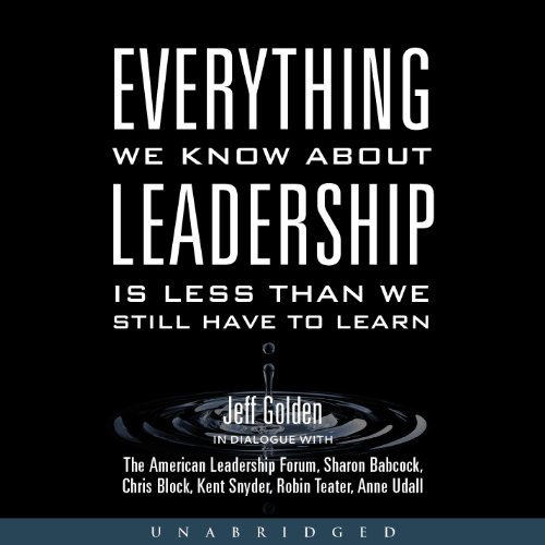 Everything We Know About Leadership audiobook cover art