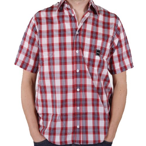 Reell Buger SL Shirt Rouge Check S