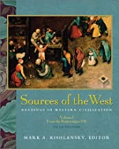 Sources of the West: Readings in Western Civilization, Volume I (5th Edition)