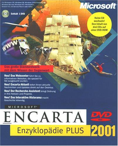 Microsoft Encarta Enzyklopädie 2001 Plus DVD