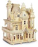 CUTEROOM Puzzle 3D Madera, Rompecabezas Madera 3D para Construir, Kit de Manualidades DIY, Juguete de Montaje