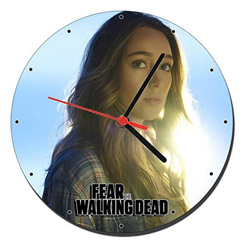MasTazas Fear The Walking Dead Alicia Clark Alycia Debnam Carey B Reloj de Pared Wall Clock 20cm