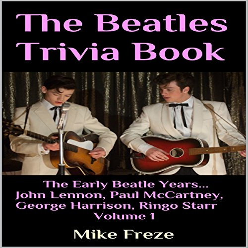 The Beatles Trivia Book audiobook cover art