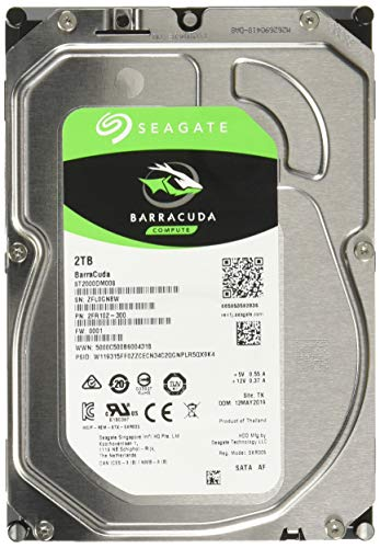 Seagate ST2000DM008 - Disco duro interno de 2 TB, color plata
