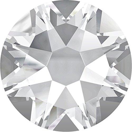 Swarovski Kristalle 2088 XIRIUS KEIN Hotfix, Farbe Crystal, SS12 (Ø ca. 3,1 mm) Inhalt 100 Stück