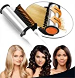 Rexmon Rotating Rollers Hair Styler Kit Curler, Straightener Curling Iron (MultiColour)
