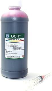 BCH Standard Bulk Magenta Refill Ink 500 ml (16.9 oz) for All Printers: HP CAN EPSN BRO LEX