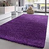 alfombra lila habitacion