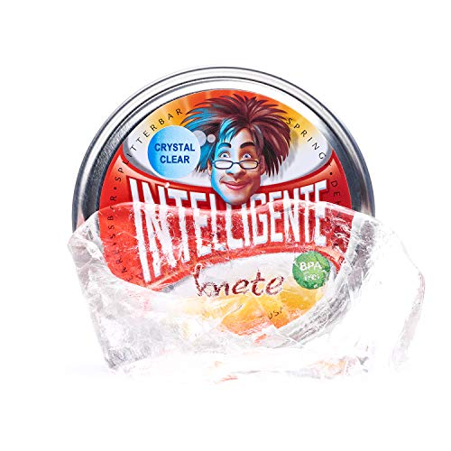 Intelligente Knete Liquid Glass Transparent BPA- und glutenfrei